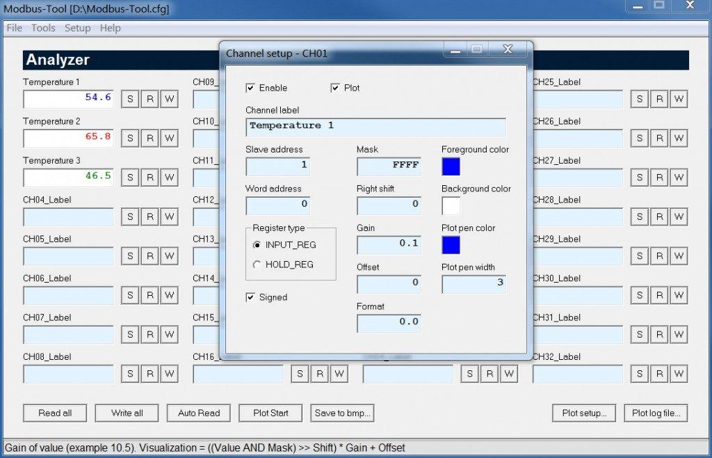 modbus tool analyzer